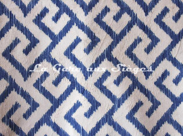 Tissu Deschemaker - Labyrinthe - réf: 3117 Beryl - Voir en grand