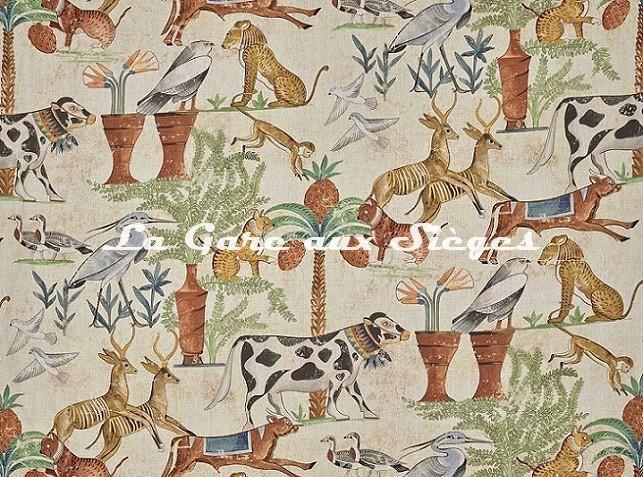 Tissu Pierre Frey - Sur le Nil - réf: F3390.001 ( détail ) - Voir en grand