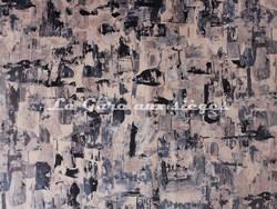 Tissu Deschemaker - Velours Munich - Coloris: 3102 Ardoise - Voir en grand