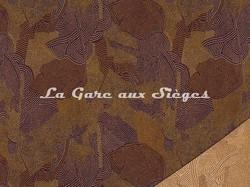 Tissu Pierre Frey - Maralinga - réf: F3012-002 Sienne brulée - Voir en grand