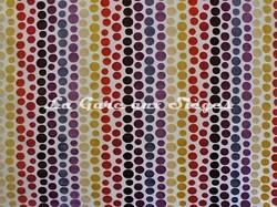 Tissu Casal - Confettis - réf: 12670 - Coloris: 75 Multirouge - Voir en grand