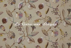 Tissu Casal - Rio - réf: 30387 - Coloris: 60 Mastic - Voir en grand
