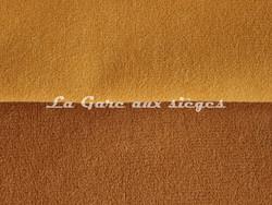 Tissu Chanée Ducrocq - Dune - Coloris: 2217 Or - 2218 Camel - Voir en grand