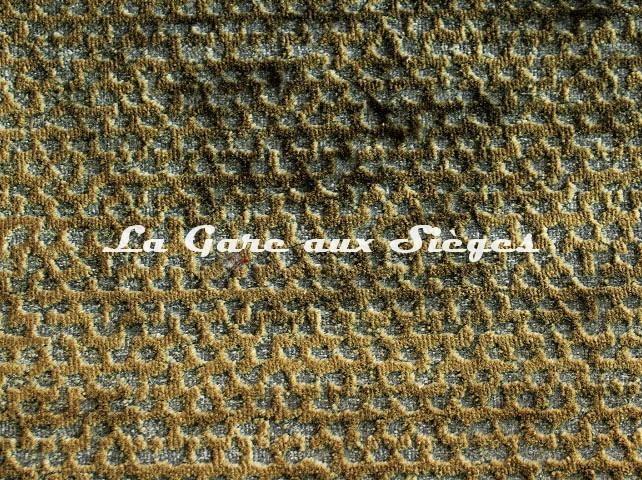 Tissu Rubelli - Velours Luchino - réf: 30259.002 Platino - Voir en grand