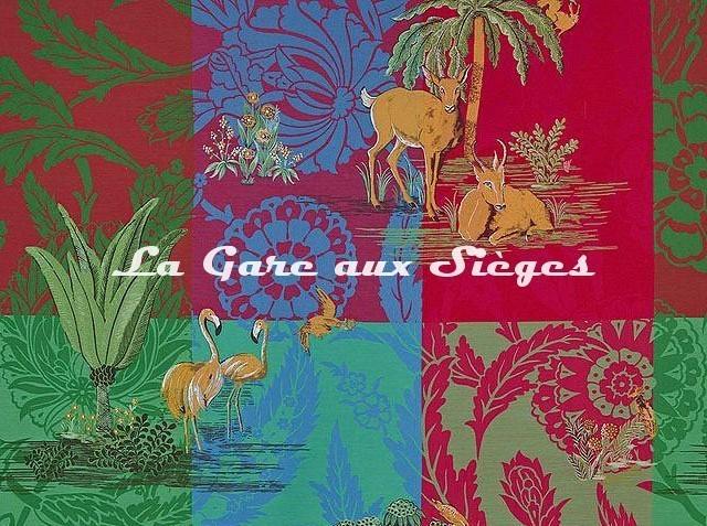 Tissu Pierre Frey - La Folie persane - réf: F3467.001 ( détail ) - Voir en grand
