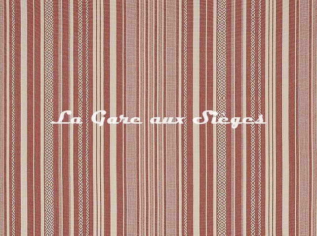 Tissu Pierre Frey - Zoulous - réf: F3350.001 Corail - Voir en grand