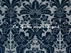 Tissu Tassinari & Châtel - Mansart - réf: 1681.03 Bleu - Voir en grand