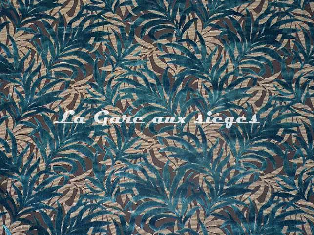 Tissu Casal - Jungle - réf: 12707.12 Canard - Voir en grand