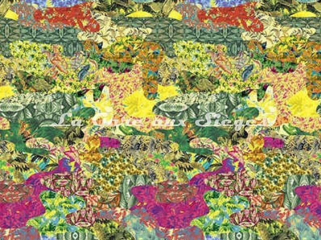 Tissu Pierre Frey - Chromatropic - réf: F5653-001 Original - Voir en grand