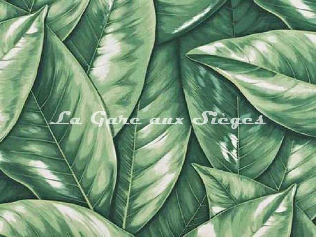 Tissu Boussac - Santiago - réf: O7683-001 Vert - Voir en grand