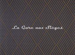Tissu Pierre Frey - Scott - réf: F3101-001 Mordoré - Voir en grand
