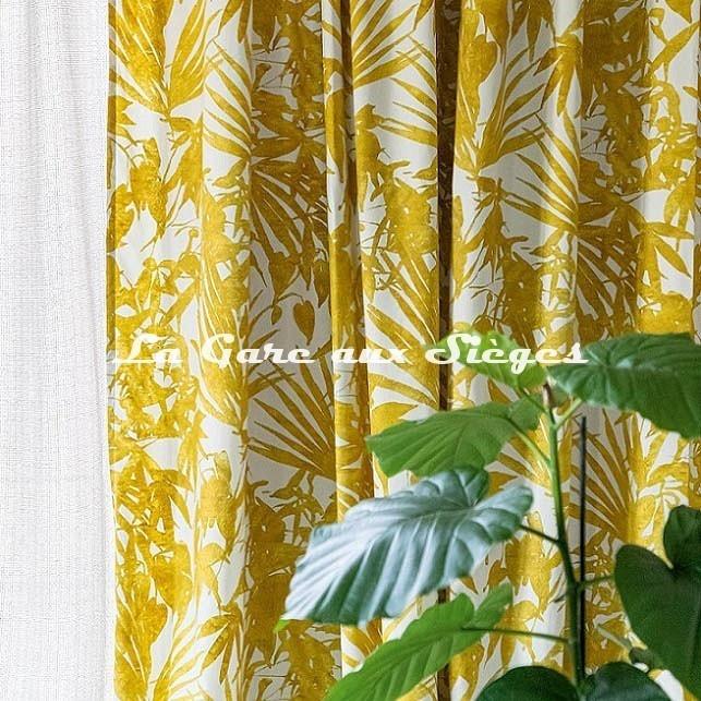Tissu Rubelli - Home Jungle - réf: 30409.001 - Voir en grand