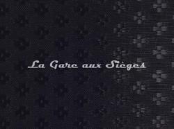 Tissu Le Crin - Nircel 201 - réf: C0201 - Coloris: 049 Noir - Voir en grand