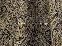 Tissu Lelièvre - Paisley - réf: 582.02 Mordoré - Voir en grand