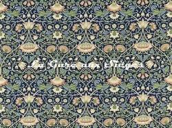 Tissu William Morris - Lodden - réf: 222521 Indigo/mineral - Voir en grand