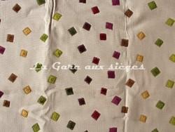 Tissu Deschemaker - Santiago - réf: 103953 - Coloris: Burlat - Voir en grand