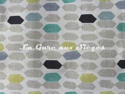 Tissu Casal - Magicien - réf: 30397 - Coloris: 1274 Turquoise Lin - Voir en grand