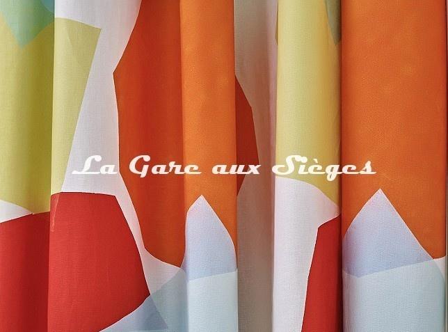 Tissu Pierre Frey - Lively - réf: 3487.001 Multicolore - Voir en grand