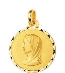 Médaille vierge plaqué or 52 ¤ - Voir en grand