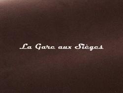 Tissu Pierre Frey - Gaspard - réf: F3070.007 Choco - Voir en grand
