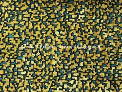 Tissu Nobilis - Velours Pixels - réf: 10563-67 - Coloris: Turquoise mosaïque