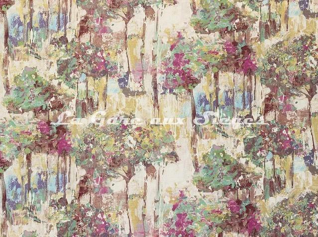 Tissu Casal - Van Gogh - réf: 30395 - Coloris: 90 Hortensia - Voir en grand