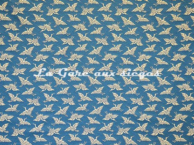 Tissu Casal - Madine - réf: 13455.14 Canard - Voir en grand