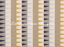 Tissu Harlequin - Azul - réf: 132011 Navy/Sky/Gold - Voir en grand