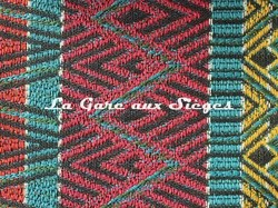 Tissu Pierre Frey - Celaya - réf: F3076.001 Multicolore - Voir en grand