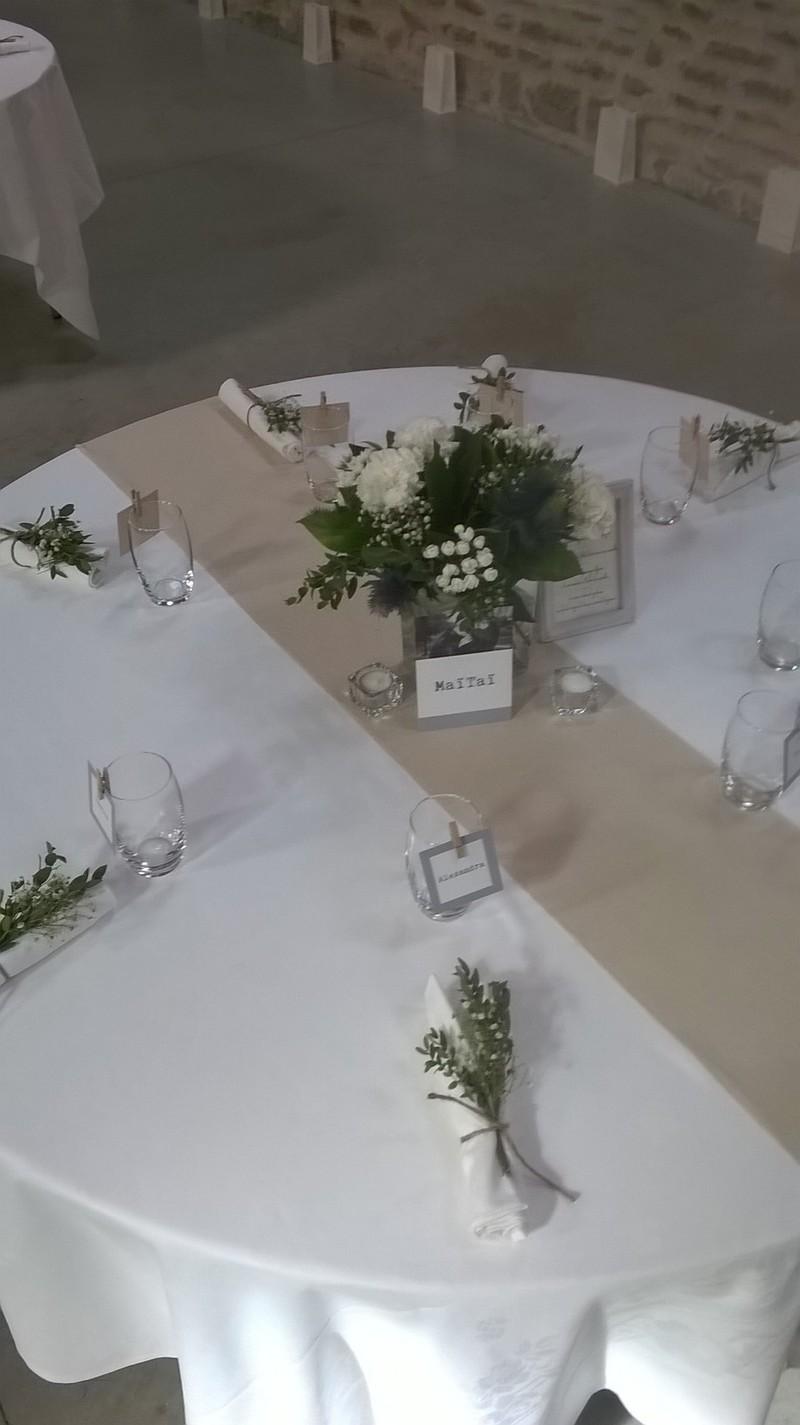 Centre De Table Pour Mariage Romantique