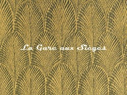 Tissu Pierre Frey - Palmette - réf: F3095.005 Miel - Voir en grand