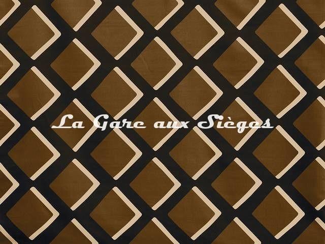 Tissu Pierre Frey - Diamonds - réf: F3213.004 Terracotta - Voir en grand