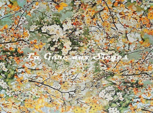 Tissu Jean Paul Gaultier - Sakura - réf: 3468.02 ( lé ) - Voir en grand