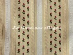 Tissu Chanée Ducrocq - La Bruyère - réf: 8346 Crème - Voir en grand