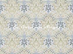 Tissu William Morris - Artichoke Embroidery - réf: 234544 Soft Gold/Cream - Voir en grand