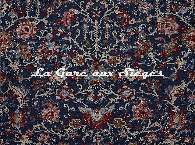 Tissu Pierre Frey - Ankara - réf: F3451.002 Bleu - Voir en grand