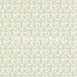 Papier peint Zoffany - Tumbling Blocks - réf: 312891 Empire Grey