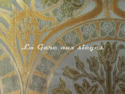 Tissu Verel de Belval - Silènes - réf: 99110-008 Etang - Voir en grand