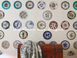 Papier peint Osborne & Little - Ceramica - Voir en grand