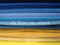 Tissu Nobilis - Velours Otello - Palette de couleur n°3 - Voir en grand