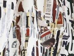 Tissu Jean Paul Gaultier - Métropolitain - réf: 3472-01 Naturel - Voir en grand