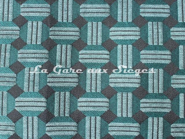 Tissu Casal - Jongleur - réf: 16187 - Coloris: 1165 Tropique Anthracite - Voir en grand