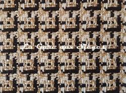 Tissu Dedar - Chérie - réf: T15028.001 Ivory