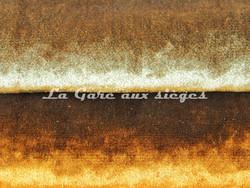 Tissu Verel de Belval - Boréale - réf: 98013 - Coloris: 002 Pistache & 001 Miel - Voir en grand