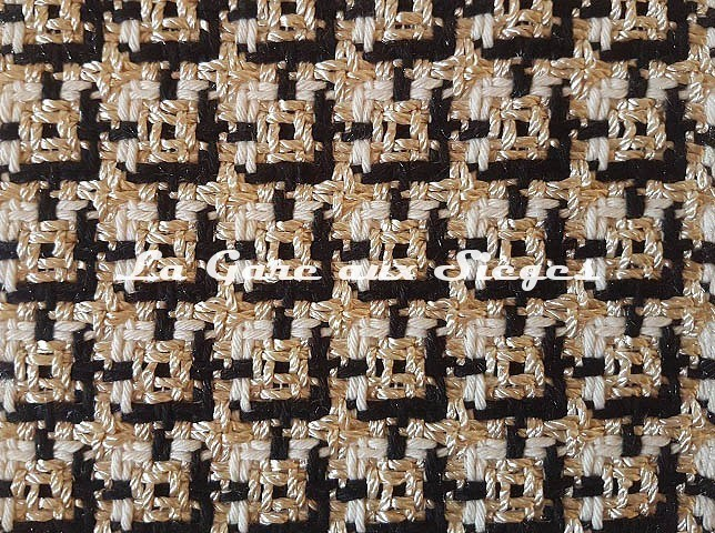 Tissu Dedar - Chérie - réf: T15028.001 Ivory - Voir en grand