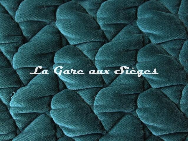 Tissu Dominique Kieffer - Velours Tresse - réf: 17229.03 Fiordo - Voir en grand