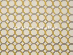 Tissu Clarke & Clarke - Giovanni - réf: F0707-02 Chartreuse - Voir en grand