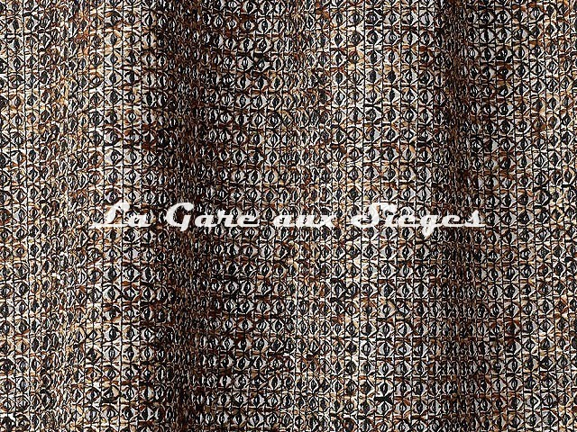 Tissu Dedar - Atelier - réf: T16040.003 Brown - Voir en grand
