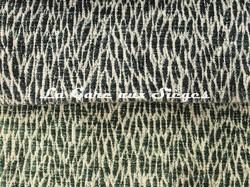 Tissu Pierre Frey - Colette - réf: F3115 - Coloris: 009 Pétrole & 010 Canard - Voir en grand