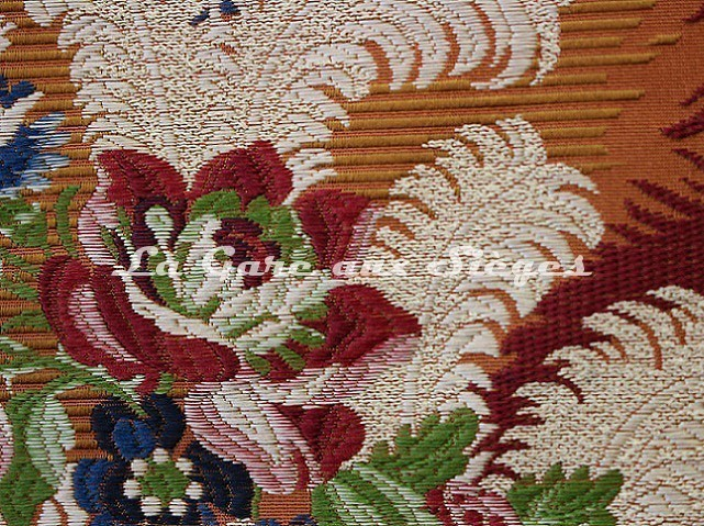 Tissu Tassinari & Châtel - Panache - réf: 1652.01 Ambre ( détail ) - Voir en grand
